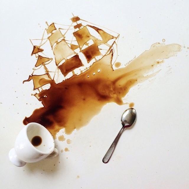 لکه قهوه و چای