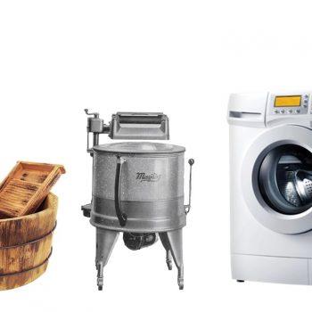 تاریخچه شستشوی لباس و ماشین لباسشویی