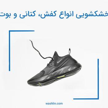 خشکشویی کفش