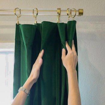 نصب پرده از خدمات خشکشویی محسوب می شود؟