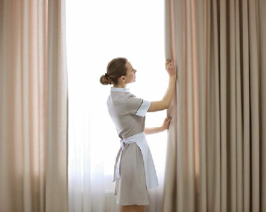 برای نصب پرده پس از شستن آن چه باید کنیم؟